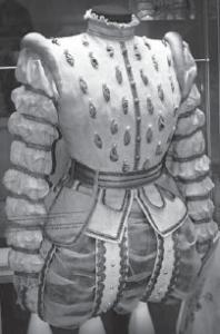 Царский пурпур на платье Ермоловой