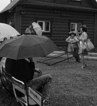 Драматургия дождя / Театральный ландшафтный фестиваль «Тайны горы Крестовой» (Губаха, Пермский край)